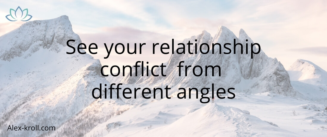 relationship conflict from different angles